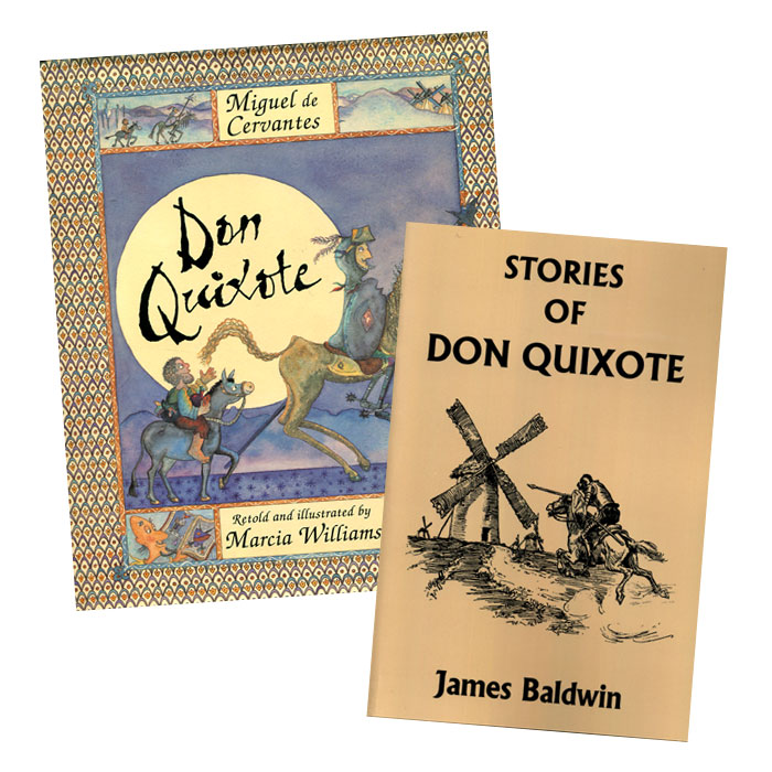 don quixote essays Q2 wherein lies the comedy in part one of don quixote the story don quixote is a burlesque, mock epic of the romances of chivalry, in which cervantes.