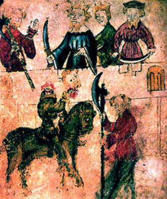 a review of the story of sir gawain and the green knight The story of sir gawain and the green knight has its foundation in arthurian  legend as formulated and passed down by the pagan oral tradition.