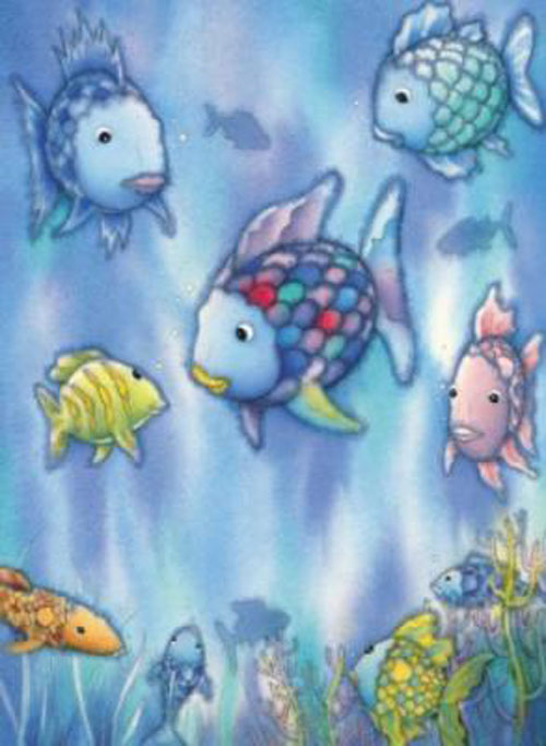 Rainbow fish exodus books for The rainbow fish