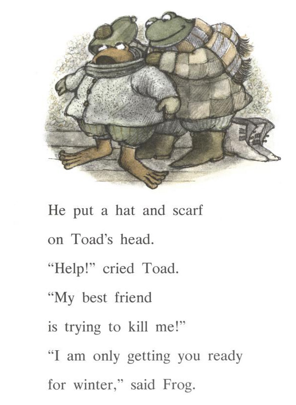 Frog and Toad All Year by Arnold Lobel Level Reader 2