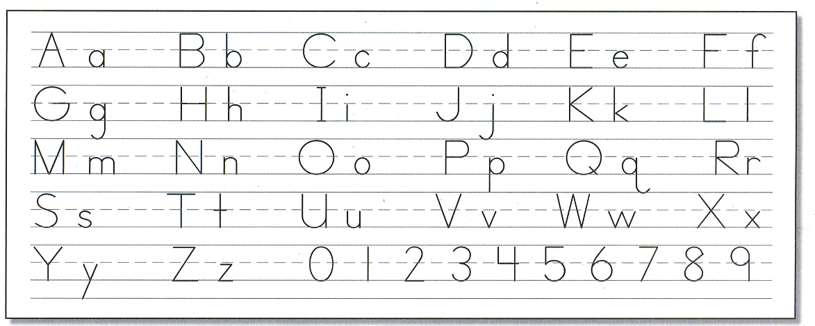 A Reason For Handwriting Exodus Books – Zaner Bloser Handwriting Worksheets