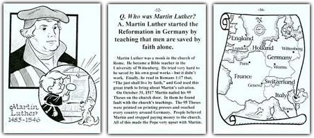 Church History For Young Children With Cartoons