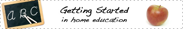 Getting Started in Home Education