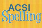 ACSI Purposeful Design Spelling - Exodus Books