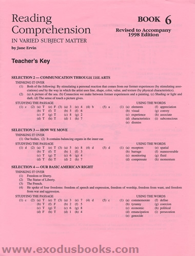 Reading Worksheets With Answer Key : Evan moor daily reading comprehension grade pdf answer