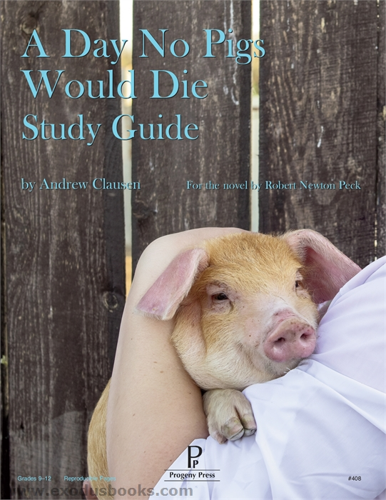 A day no pigs would die essay