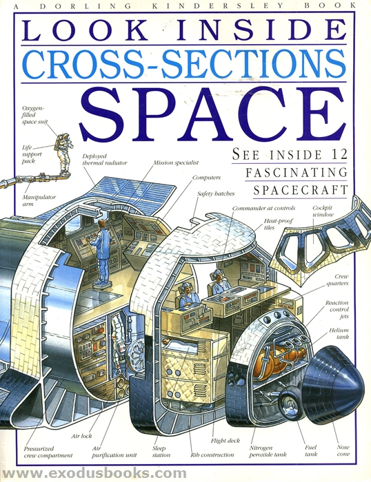 Look Inside Cross-Sections - Space - Exodus Books
