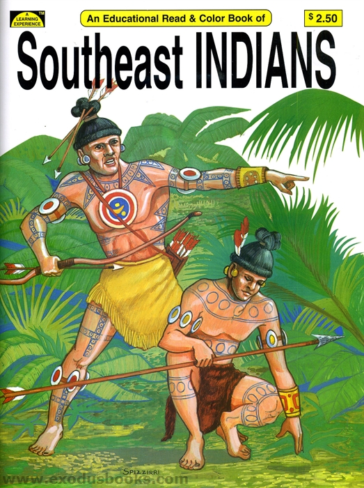 back - Native American Coloring Book