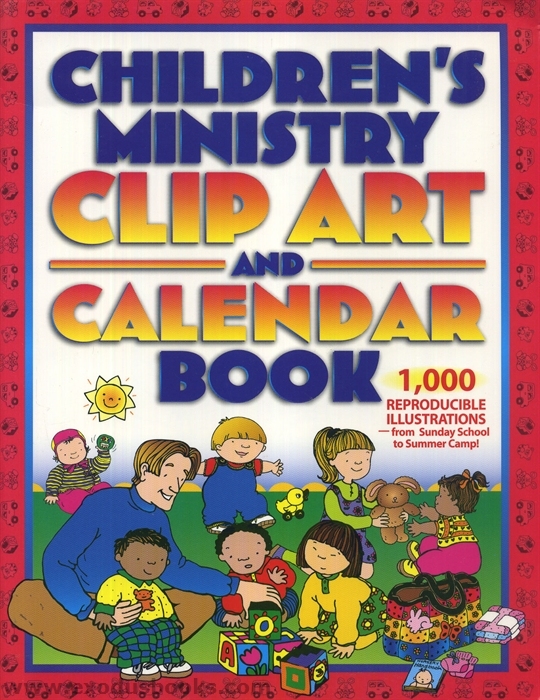 Art Calendar Book : Children s ministry clip art and calendar book exodus books
