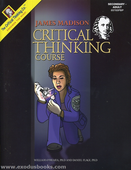 critical thinking assignment for apologetics Critical thinking assignment module 3 i what is worldview what a person considers to be their truths on the views of the world and it issues it is based.