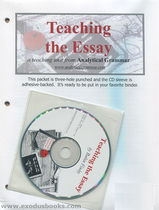 teaching the essay analytical grammar review Teaching analytical writing through rubrics instead of teaching analysis i have done a lit review on the use of rubrics.