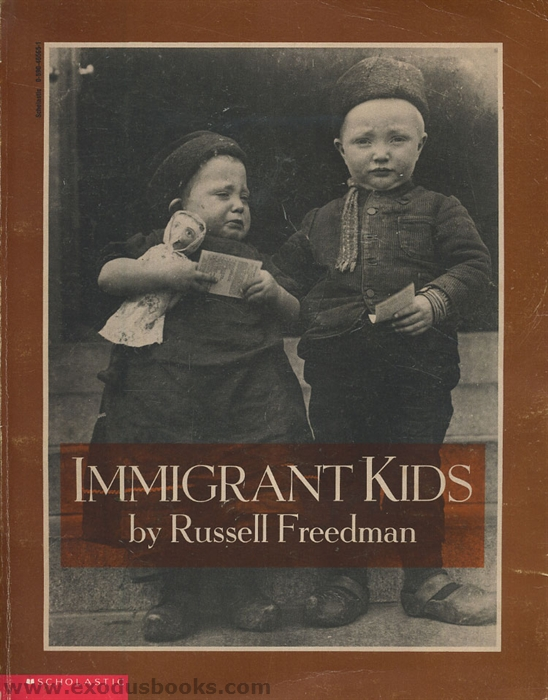 a review of immigrant kids by russell freedman Art & design arts & entertainment biography & memoir business & economy  children's books  read an excerpt from who was first by russell freedman:   past, we find that the americas have always been lands of immigrants,  get  the pick of npr author interviews, news and reviews delivered.