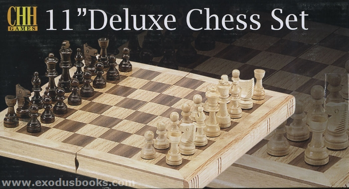 Chess 11 deluxe set exodus books - Deluxe chess sets ...