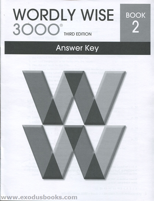 wordly wise 3000 book 6 answers pdf