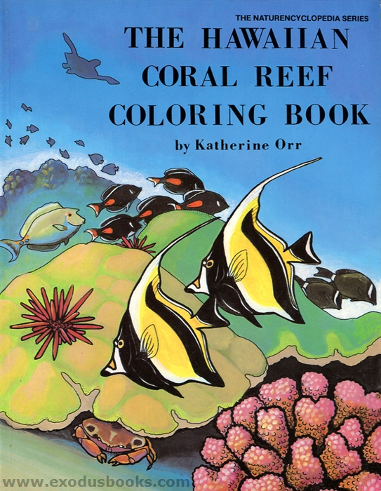 hawaiian coral reef coloring pages - photo#17