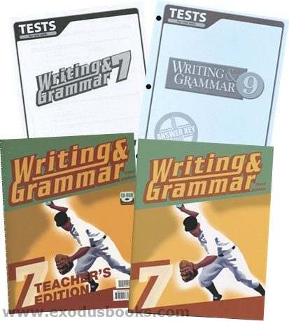 BJU Writing and Grammar 8 Teacher Edition with CD, Tests and Test Key