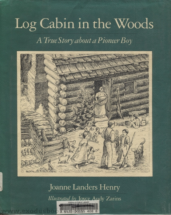 Log cabin in the woods exodus books for Log home books