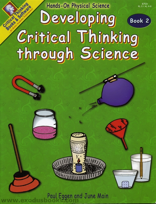 Critical Thinking: Heppner s Legacy Homeschool Resources, Run