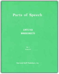 Parts of Speech: English Worksheets Grades 6-8