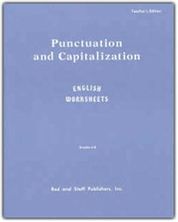 Punctuation and Capitalization Level 2 - Teacher's Manual