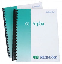 Math-U-See Alpha Student Kit (old)
