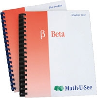 Math-U-See Beta Student Kit (old)