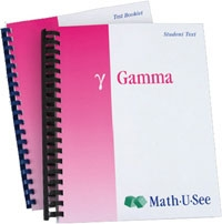 Math-U-See Gamma Student Kit (old)