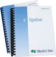 Math-U-See Epsilon Student Kit (old)