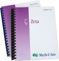 Math-U-See Zeta Student Kit (old)