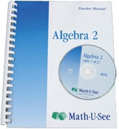 Math-U-See Algebra 2 Teacher Pack