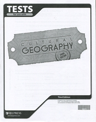 Cultural Geography - Tests (old)
