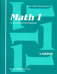 Saxon Math 1 - Home Study Meeting Book