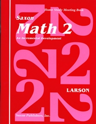 Saxon Math 2 - Home Study Meeting Book