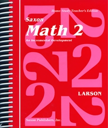 Saxon Math 2 - Home Study Teacher Manual