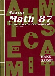 Saxon Math 8/7 - Textbook (old)