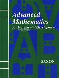 Saxon Advanced Mathematics - Textbook