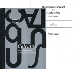 Saxon Calculus - Home Study Packet (old)