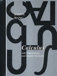 Saxon Calculus - Textbook (old)