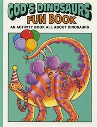 God's Dinosaurs Fun Book