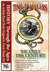 Time Travelers: Early 19th Century in America - CD-ROM