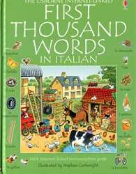 First Thousand Words in Italian - Exodus Books