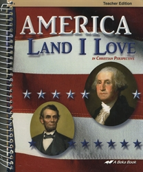 America: Land I Love - Teacher Edition
