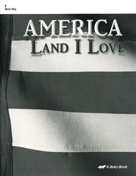 America: Land I Love - Quiz Key (old)