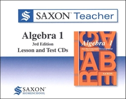 Saxon Algebra 1 - Teacher CD-ROM
