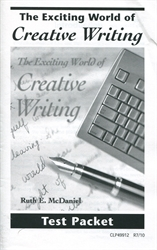 Exciting World of Creative Writing - Tests