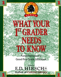 What Your 1st Grader Needs to Know (old)