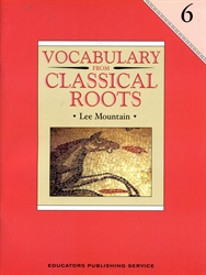 Vocabulary From Classical Roots 6