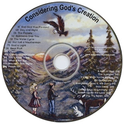 Considering God's Creation - Music CD