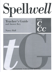 Spellwell C & Cc - Teacher's Guide and Answer Key
