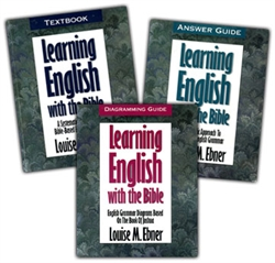 Learning English with the Bible - 3 Volume Set